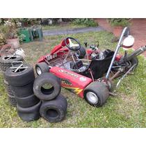 Karting Mot Honda 110 4t + Motor De 2t