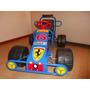 Auto A Pedal Formula 1 Ferrari Karting Nacional 3 A 7 Años