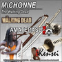 Katana Kensei Michonne The Walking Dead Full Tang Filo Extr.