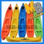 Kayak Doble Con Remos Incluidos - Island Kayak