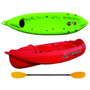 Kayak Atlantikayaks Con Remo Eslora 2.6mt Manga 72cm