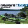 Kayak Inflable Intex Challeger K2 Para 2 C/2 Remos Inflador
