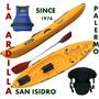 Kayak Dragger Pesca Samoa Remo Asiento Chaleco - San Isidro