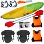 Kayak Triple Samoa Family Ideal Pesca + Asientos + Alaguaman
