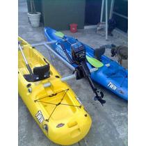 Kayak Con Motor Tipo Katamaran