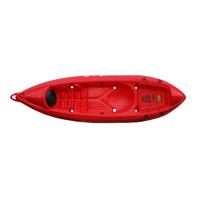 Kayak K1 Atlantikayaks Pesca/travesia Inc. Remo+silbato