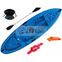 Kayak Sit On Top Honu+asiento+silbato+remo+soga Quilmes