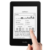 Amazon Kindle Paperwhite E-reader E-book C/luz Wifi Touch
