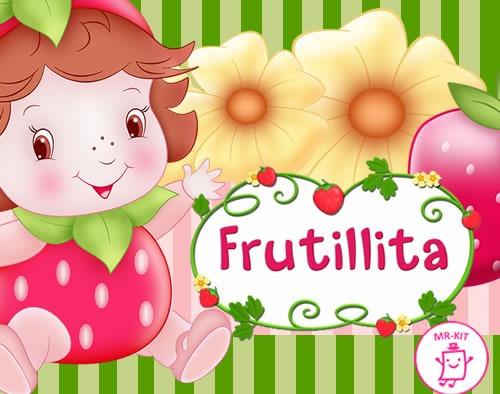 Kit Imprimible Frutillita Bebe Diseñá Tarjetas Cotillon - $ 39,99 ...