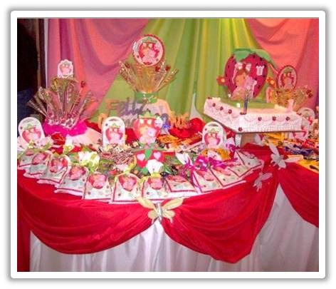 Cotillon para cumpleaños de frutillitas - Imagui