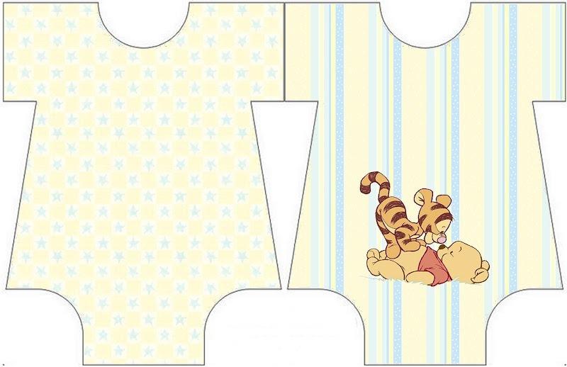 Kit imprimible Winnie Pooh bebé gratis - Imagui