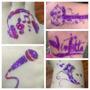 Tattoo Glitter Kit Artistico Infantil 50tat+peg+10glit+pinc