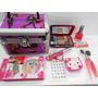 Kit 8 Art Cofre Maletin + Maquillajes + Deco Uñas Ydnis