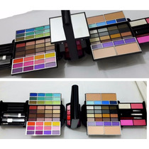 Mega Set De Belleza Deluxe Maquillaje Profesional C/colageno