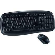 Teclado + Mouse Inalambrico Genius Kb-8000 Kit Wireless Mp