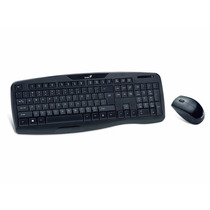 Combo Teclado Mouse Genius Kb-8000x Usb Wireless Inalambrico