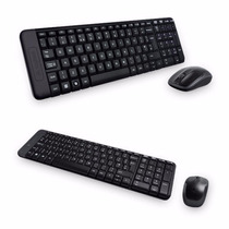 Kit Teclado Mouse Inalambrico Logitech Mk220 Wireless Usb