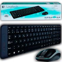 Kit Teclado Mouse Inalambrico Logitech Mk220 Wireless Usb