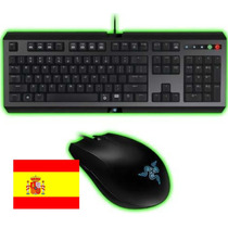 Razer Cyclosa Teclado + Mouse Abyssus 1800dpi 1000hz Gamming