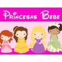 Kit Imprimible Princesas Baby Candy Bar Golosinas Y Mas