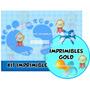 Kit Imprimible Baby Shower Nene + Candy Bar Golosinas