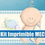 Kit Imprimible Baby Shower Tarjeta Invitacion Candy 2015 2x1