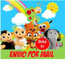 Kit Imprimible Baby Tv Jirafa Mariposa Candy Bar Banderines