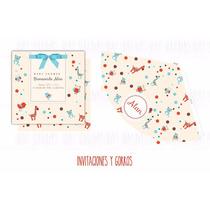 Baby Shower Varón Kit Imprimible Candy Bar Decoración 1 Año