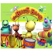 Kit Imprimible Big Bus Band Baby Tv Candy Bar