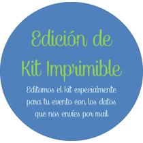 Edición De Kit Imprimible