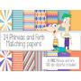Kit Imprimible Phineas T Ferb 30 Clipart - 14 Fondos.-