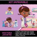 Kit Imprimible Dra Juguetes 2x1, Cumple Tarjetas Candybar