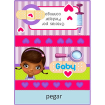 Kit Imprimible Candy Bar Doctora Juguetes Cybermonday