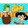 Kit Imprimible El Chavo Del 8 Candy Bar Golosinas Tarjetas