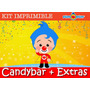 Kit Imprimible Payaso Plim Plim - Candy Bar - Plin Plin