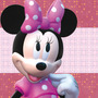 Kit Imprimible Minnie Rosa Tarjetas Candy Bar Calendario