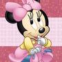 Kit Imprimible Minnie Bebe Tarjetas Candy Bar Calendario