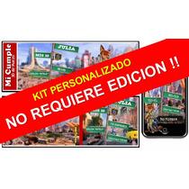 Kit Imprimible De Zootopia Para Nenas Personalizado 100%