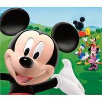 Kit Imprimible Mickey Mouse Candy Bar Invitaciones Cotillon