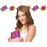 Kit Imprimible Candy Bar Violetta - Editable 2014