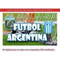 Kit Imprimible Candy Bar Futbol Argentina !!!