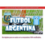 Kit Imprimible Candy Bar Futbol Argentina !!!