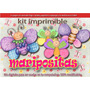 Kit Imprimible Candy Bar Maripositas Mariposas Primer Añito