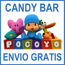 Kit Imprimible Pocoyo Candy Bar Golosinas Personalizadas