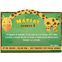 Kit Imprimble Animalitos De La Selva Listo Para Imprimir