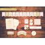 Corona Princesa 1 Año Kit Imprimible Personalizado Candy