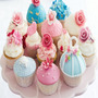 Kit Imprimible Cupcakes Wrappers Y Toppers + Diseños