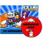 Kit Imprimible Club Penguin Invitaciones + Golosinas