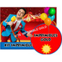 Kit Imprimible Topa Invitaciones + Golosinas Y Mas