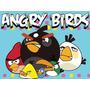 Kit Imprimible Angry Birds Diseñá Tarjetas, Cumples Y Mas